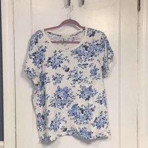 Plus Size Forever 21 Floral Top